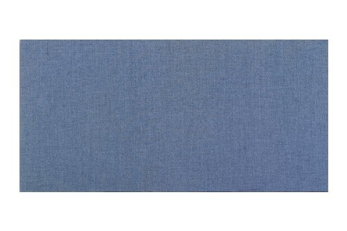 Sky Blue Vinyl Bulletin Board - Vinyl Fabric Covered Bulletin Boards - Wrapped Edge - Square Cornered Color Code: Blue Sky-15, Size: 2' x 3'