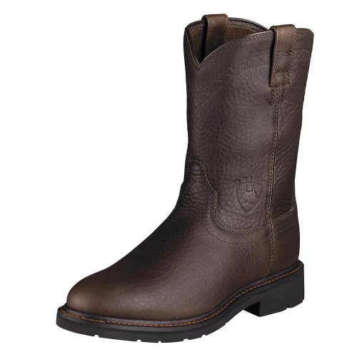 Ariat Mens Sierra Wide Square Boot Brick 60VMwq7H