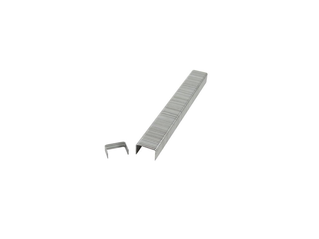 B & C Eagle A19-14 1/4-Inch Length Galvanized Fine Wire Staples, Steel, 5000-Pack