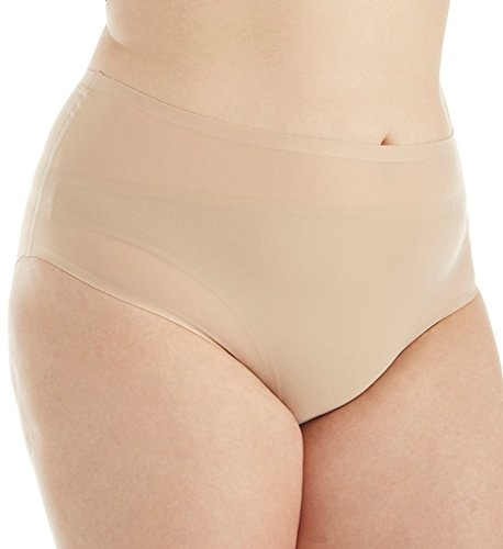 Chantelle Seamless High Waist Brief Plus Size Panty (1137) O/S/Ultra Nude