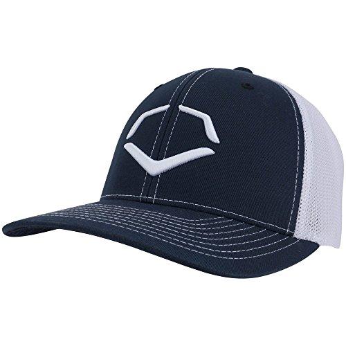 EvoShield's Speed Stripe Flex Fit Hat - Navy White