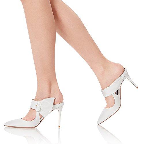 Alto Sexy Elegante Aggiornamento 38 Pole White Tacco Della Sexy Tacco 810 KJJDE Dance Altissimo Fibbia Donna TLJ Cintura TnFW7qwBx