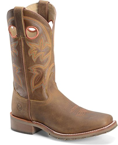 Double H Mens 12 Domestic Work Western DH5419 Canyon Leather yv5i2