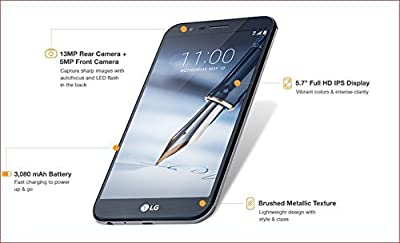 LG Stylo 3 Plus TP450 T-Mobile Only (Certified Refurbished)