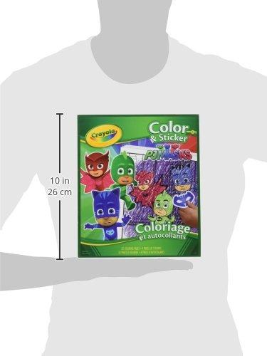 Crayola PJ Masks Color and Sticker Book 04-0077