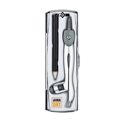 JPC Coffret Compas Canon Metal Porte Crayon Crayon Wellwreapped - Canon porte