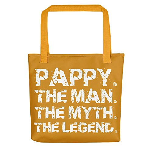 Tote Bags Pappy The Man Myth Legend Daddy Grandad -