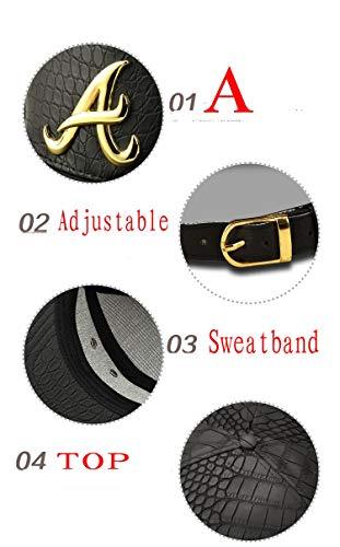 MADY 18K Gold Plated VIP/A/Dollar Grain Baseball Cap Men Women Adjustable Strapback 5