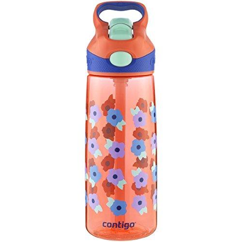 Contigo 20 oz. Kids Striker Autospout Water Bottle - Tango P