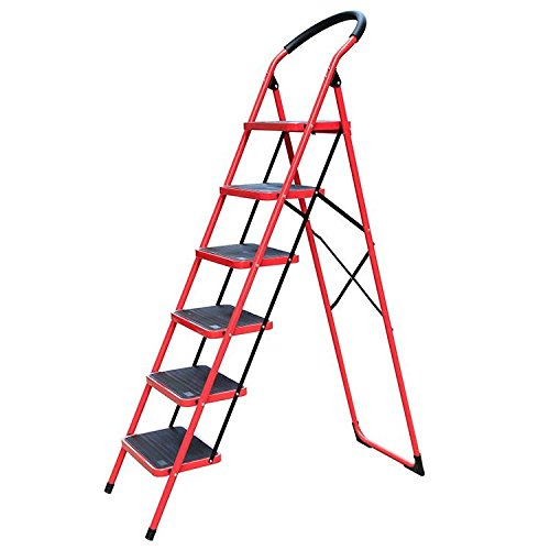 trader Heavy Duty 6 Steps Iron Ladder
