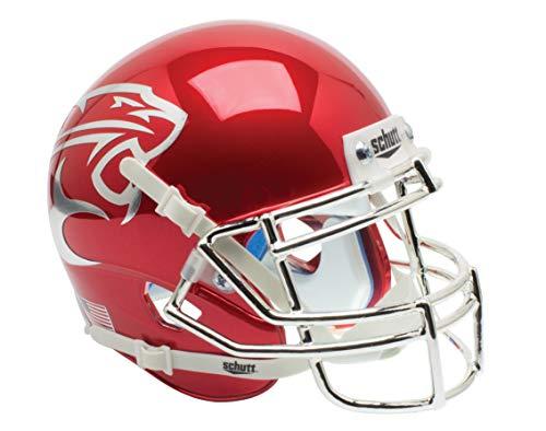 Schutt NCAA Houston Cougars Mini Authentic XP Football Helmet, Red Chrome Alt. 2