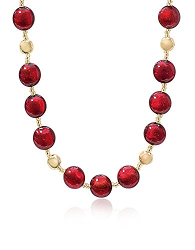 Price comparison product image Antica Murrina Women's Co016a11 Red Other Materials Necklace