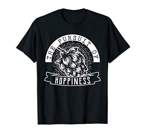Triple Ale - Home Gift Tshirt, Pursuit of Hoppiness, Brew Tee