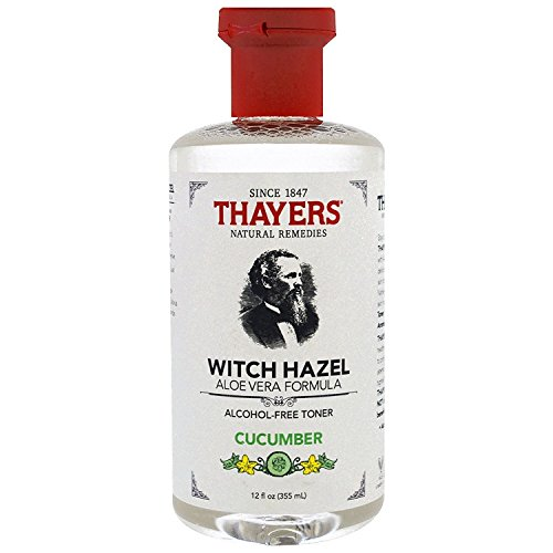 Thayers Witch Hazel Toner with Aloe Vera Cucumber, 12 oz (Pack of 2) For Sale
