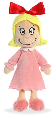 "Aurora World  12"" Cindy Lou Who, Pink, Red, Yellow from Aurora"