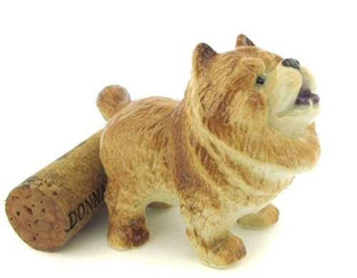 3 D Ceramic Toy Chow Chow Dog Dollhouse Miniatures Free Ship (Dog Elf Outfit)