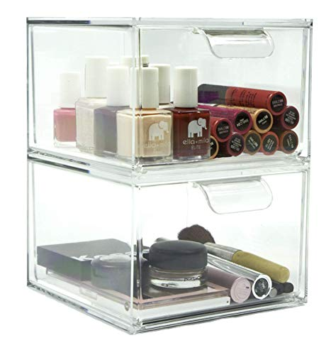 Stackable Kitchen and Bathroom Acrylic Drawer