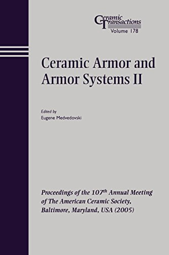 Ceramic Armor Plate (Ceramic Armor and Armor Systems II: Proceedings of the 107th Annual Meeting of The American Ceramic Society, Baltimore, Maryland, USA 2005 (Ceramic Transactions Series))