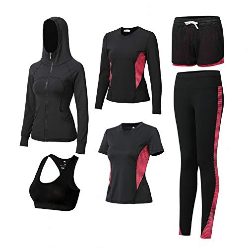 Automne Size Ensembles Veste Décontractée B Cinq Manches Vêtements De Rapide Maigre Était Courir color I Home Courtes Collants Femme Sport Andre Xxl Yoga Costume À pBUqYwOOx