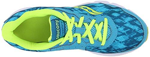 Saucony Sapphire - Zapatillas de running para mujer Azul / Blanco / Lima