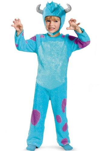 2t Monster Costume (Disney Pixar Monsters University Sulley Toddler Classic Costume,)