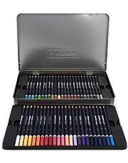 Lápis de Cor Artístico, 48 Cores, Estojo Metálico, Stabilo, Schwan Art 55.7200, Multicor, 48, pacote de 48