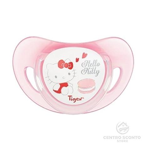 Tigex chupetes de silicona Hello Kitty 2 piezas: Amazon.es: Bebé