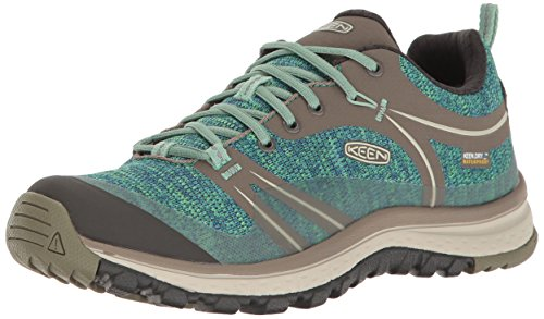 Brown Malachite (KEEN Women's Terradora Waterproof Hiking Shoe, Bungee Cord/Malachite, 9.5 M US)
