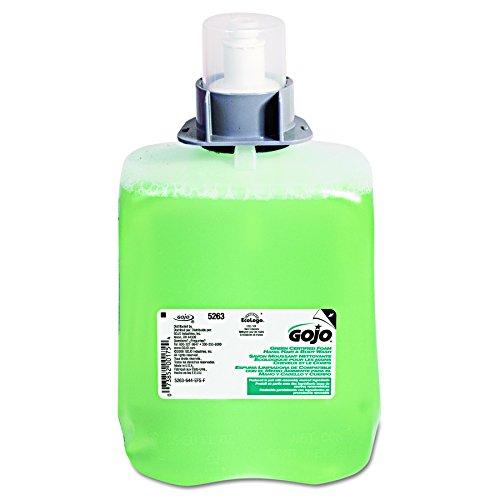 GOJO 526302 Green Certified Foam Hair & Body Wash, Cucumber Melon, 2000mL Refill (Case of 2) 41aR3znVTOL