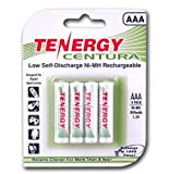 Best Aaa Rechargeable Batteries - Tenergy Centura NiMh AAA 800mAh - Batería/Pila recargable Review