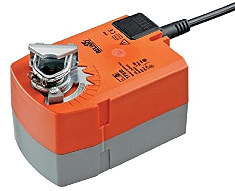 100 125 150 160 180 200 Intelmann Absperrklappe 100 mm Belimo TF230 Federr/ücklauf Stellantrieb