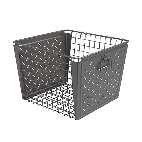 Spectrum Diversified Macklin Large Basket, Gray