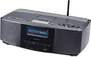 Denon S-52 Wireless Network Music System with Built-in Speakers and Alarm Clock (Discontinued by Manufacturer)