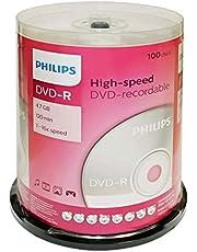 PHILIPS(R) DVD-R 4.7gb 16x, Fl 100 Pack, DM4S6B00F