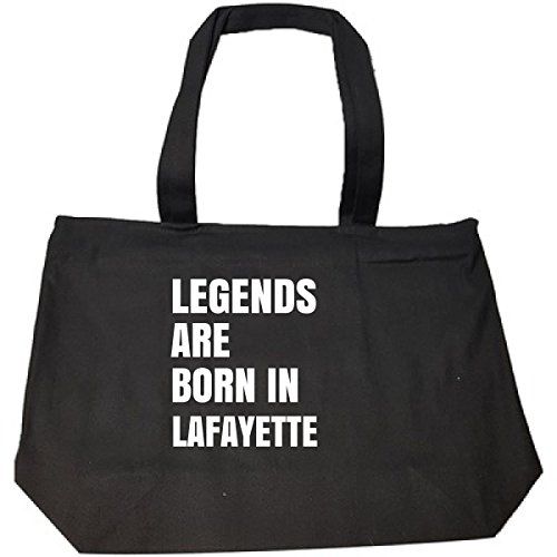 (Legends Are Born In Lafayette Cool Gift - Tote Bag With Zip)