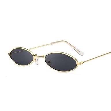 RZXTD Gafas De Sol Gafas De Sol Redondas Negras Para Las ...
