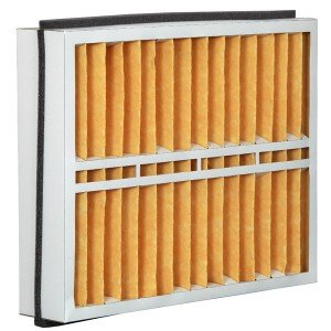 Eco-Aire 21x23 1/2x5 MERV 11, Pleated Air Filter, 21 x 23 1/2 x 5, Box of 2, Made in the USA