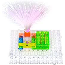 Circuit Kit With Lighted Bricks Magnets 59 Different Projects in 1, Best STEM Educational Gift for Boys and Girls Ages 6 - 14, Science Experiment Kit w Electronic Blocks, Circuits for Kids by Pantheon