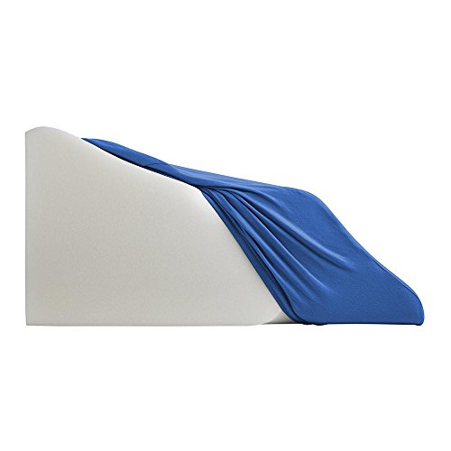 Lounge Doctor Leg Rest Extra-Wide Replacement Cover Blue Small-Soft Cotton Lycra material by The Lounge Dr. (Image #1)