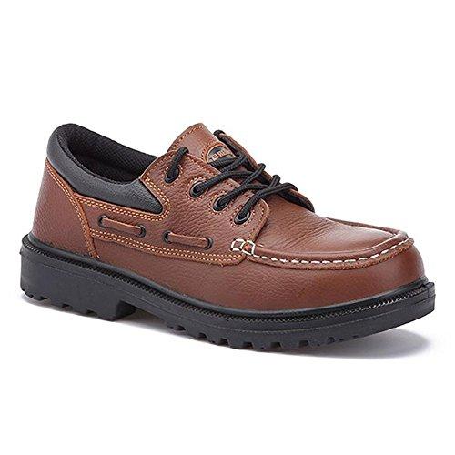 Paredes Cuarzo II S1P HRO HI CI SRC - zapatos náuticos de seguridad - marron