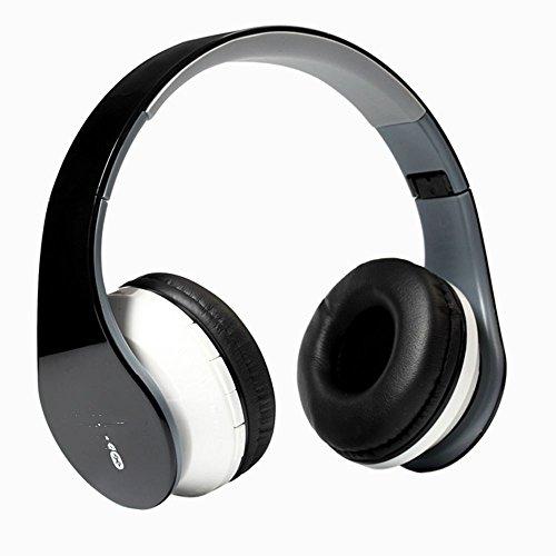 XHKCYOEJ Headset Stereo Headset/Headphones/Headphones/Bluetooth/Wireless,Black: Amazon.co.uk: Electronics