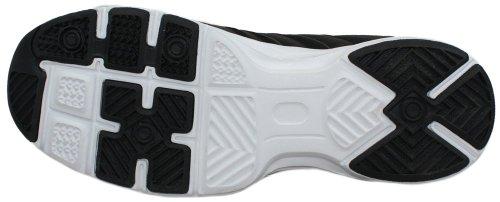 calto–g88178,1cm größer die Höhe Steigerung Aufzug Schuhe (schwarz Schnürer Sneakers)