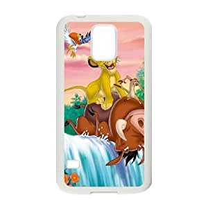 SamSung Galaxy S5 phone cases White Disneys The Lion King cell phone cases Beautiful gifts JUW80001154