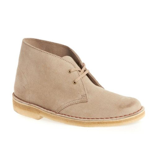 Clarks Desert Boot 00103772 - Botines Desert de cuero para mujer marrón