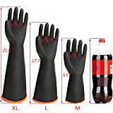 Chemical Lab Gloves, EnPoint 3 Pairs 21.6 Inches