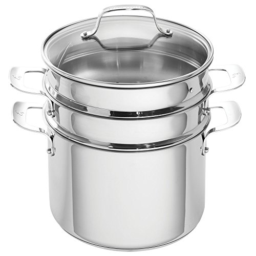 Emeril Lagasse 62960 Stainless Steel Multi-Cooker, 8 quart, Silver