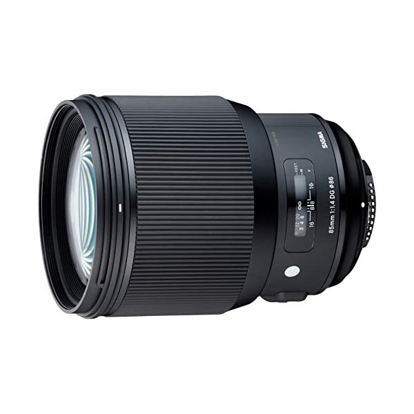RetinaPix Sigma 85mm f/1.4 DG HSM Art Lens for Nikon DSLR Camera (321955)