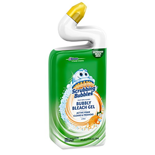 Scrubbing Bubbles Citrus Bubbly Bleach Gel Toilet Bowl Cleaner 24 Fluid Ounce Buy Online In