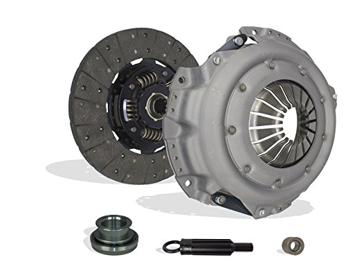 Clutch Kit Works With Chevy Gmc Astro Blazer Jimmy Sonoma Cheyenne Base LT Deluxe Sport Cheyenne Silverado WT Beauville Chevy Van 1988-1995 4.3L V6 5.0L V8 GAS OHV Naturally Aspirated