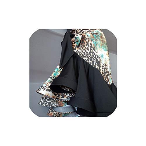 Latin Dance Costume for Women Lady Black